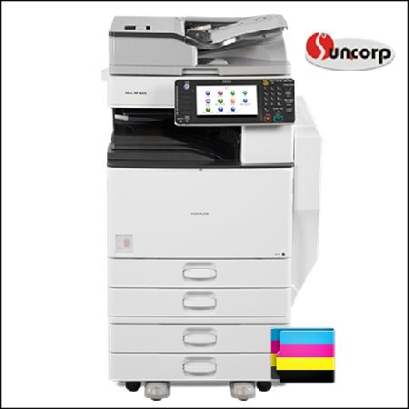 Máy photocopy Ricoh MPC 4502 chống kẹt giấy, chống bám mực