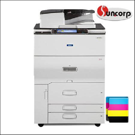 Máy photocopy màu Ricoh MPC 6502 với tính năng scan màu qua mạng