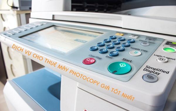 Xu hướng sử dụng dịch vụ cho thuê máy photocopy