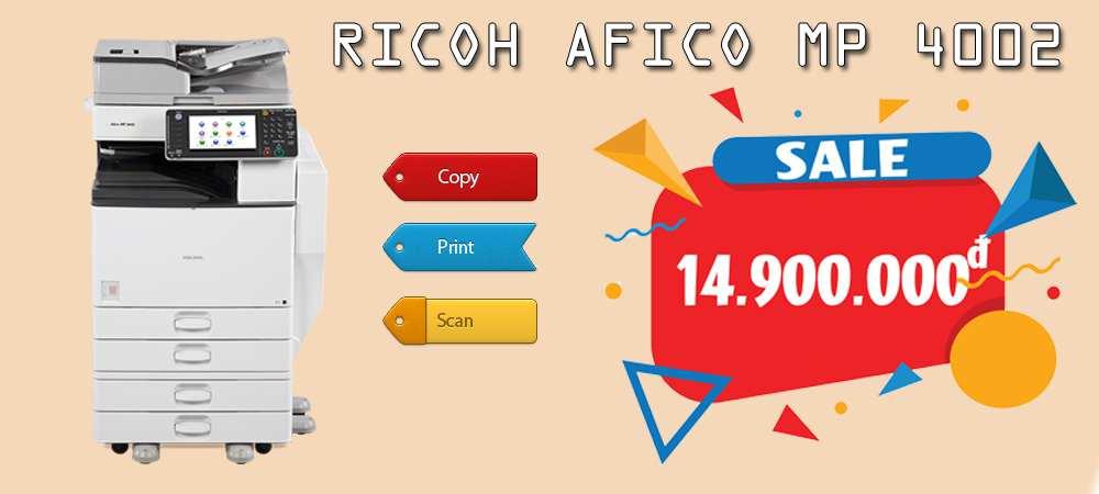 Ricoh Aficio Mp 4002