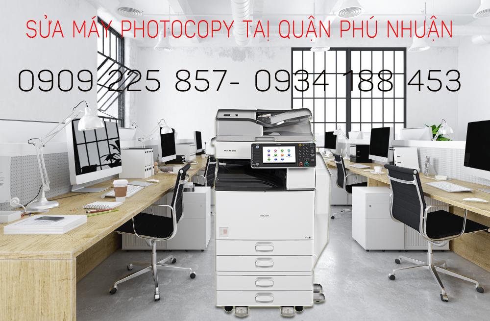 Sửa máy photocopy tại quận phú nhuận giá rẻ