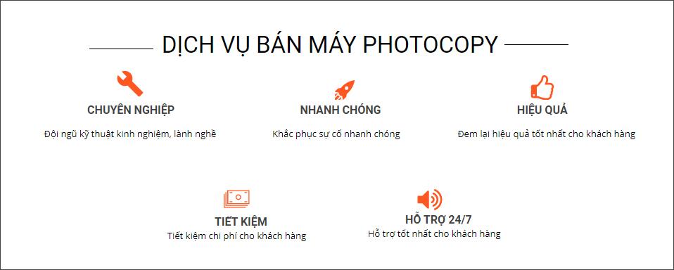 Bán máy Photocopy tại Diên Khánh.