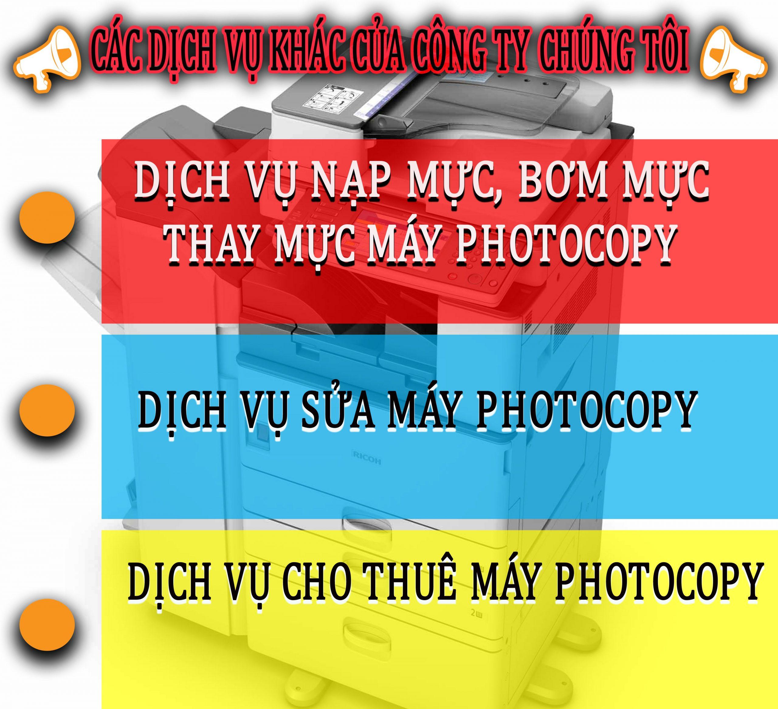 Bán photocopy tại Nha Trang.