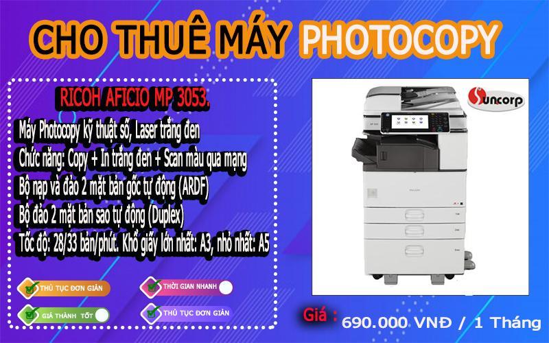 Dịch vụ cho thuê máy photocopy tại Khánh Hòa.