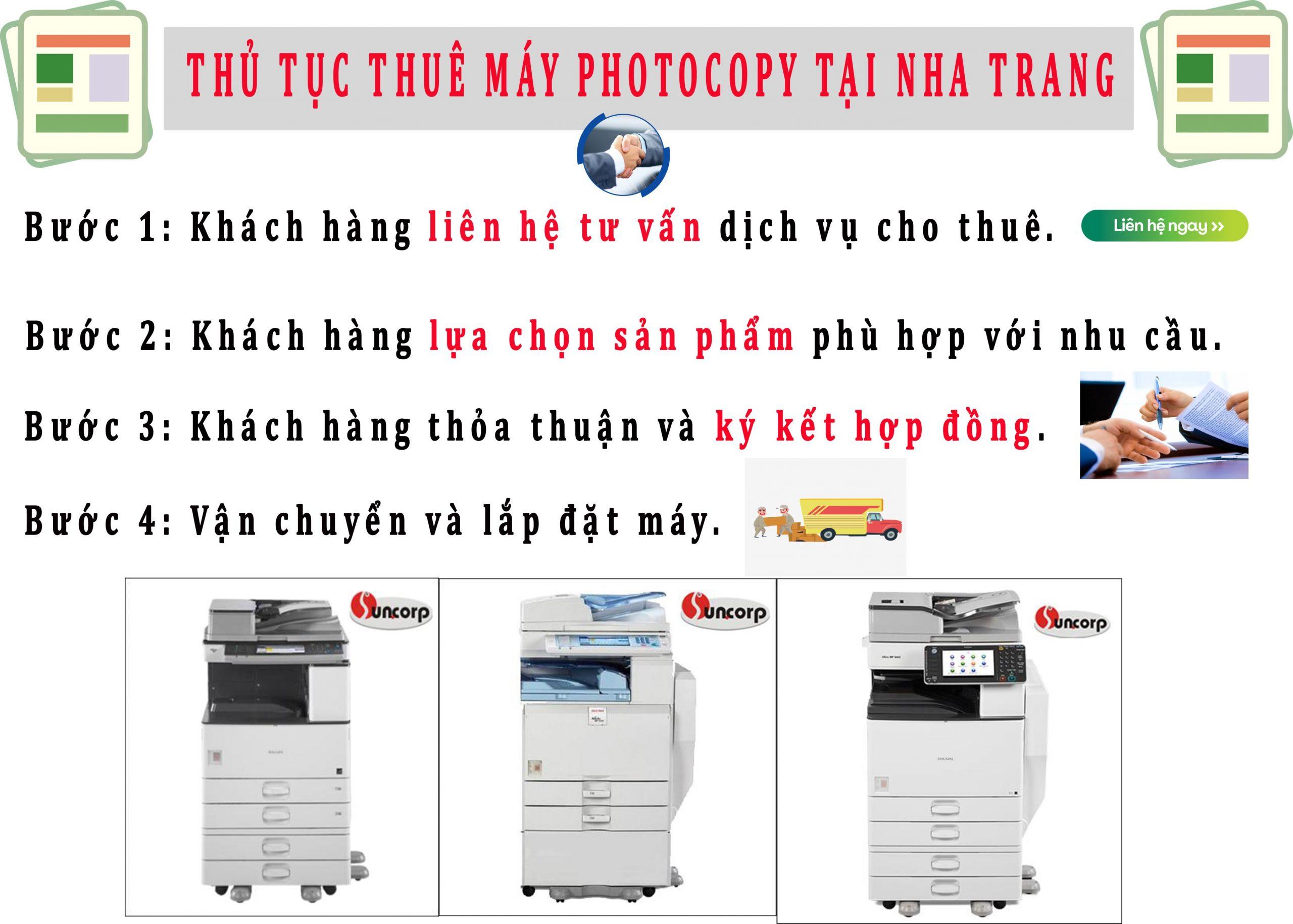Cho thuê máy Photocopy tại Cam Lâm.