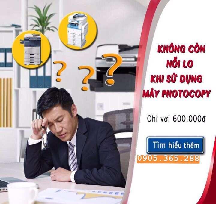 THUÊ máy photocopy tại PHAN THIẾT