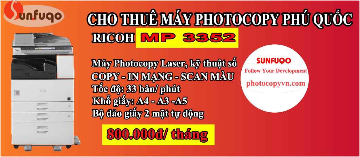 PHOTOCOPY-RICOH-MP-3352